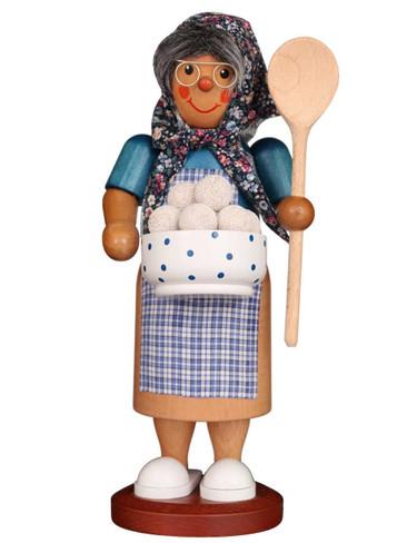 35-279 Dumpling Girl Incense Burner Christian Ulbricht Smoker