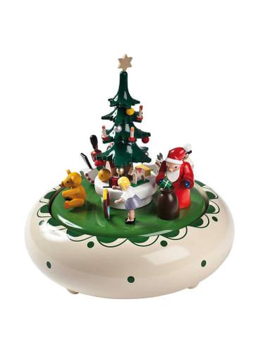 8308 Santa and Toys Christmas Music Box