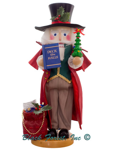 S3013 Deck the Halls Musical Steinbach Nutcracker from Germany