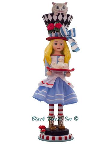 HA0466 Alice in Wonderland Hollywood Nutcracker