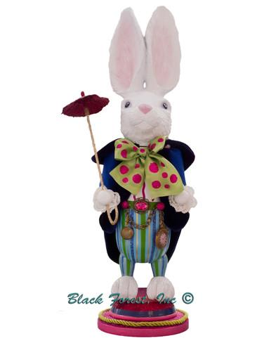 HA0382 White Rabbit Alice in Wonderland Hollywood Nutcracker