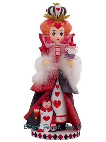 HA0519 Queen of Hearts Alice in Wonderland Hollywood Nutcracker