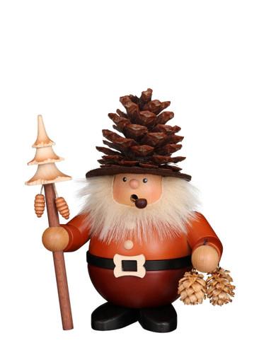 1-478 Ulbricht Incense Burner Pine Cone man Smoker
