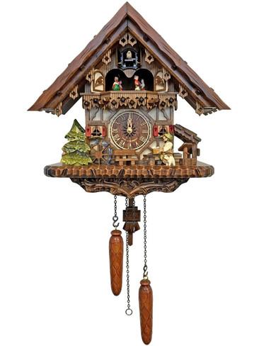 4692QMT Quartz Beer Drinker Musical Cuckoo Clock