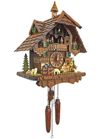 46212QMT Quartz Wanderer Musical Cuckoo Clock