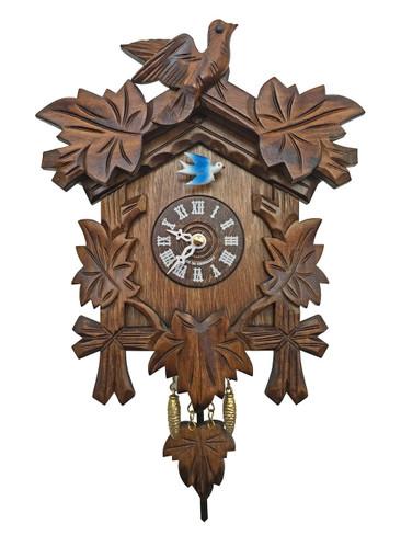 57-2QP Quartz Carved Miniature Clock