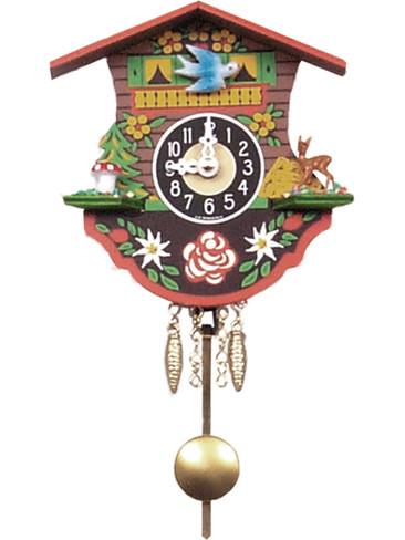 110QP Quartz Pendulum Miniature Clock