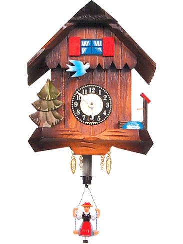 41 Key Wind Mechanical Miniature German Clock