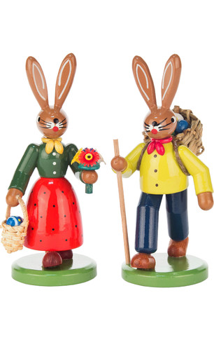 224-522 Easter Bunny Couple from Germany