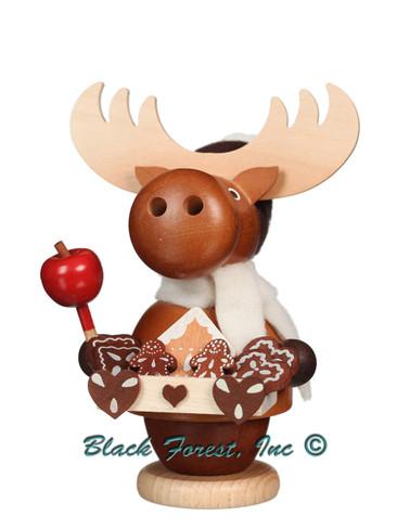 1-543 Elk Gingerbread Seller Incense Burner Christian Ulbricht Smoker