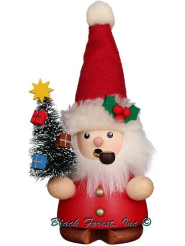 1-651 Red Santa with Tree Incense Burner Christian Ulbricht Smoker