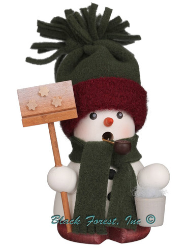 1-675 Snowman Incense Burner Christian Ulbricht Smoker