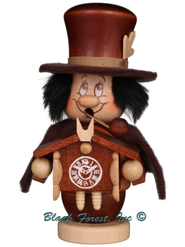35-312 Dwarf Black Forest Man Incense Burner Christian Ulbricht Smoker