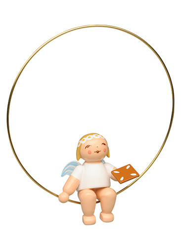 6308-150 Marguerite Angel with Ginger Bread Ornament from Wendt and Kuhn