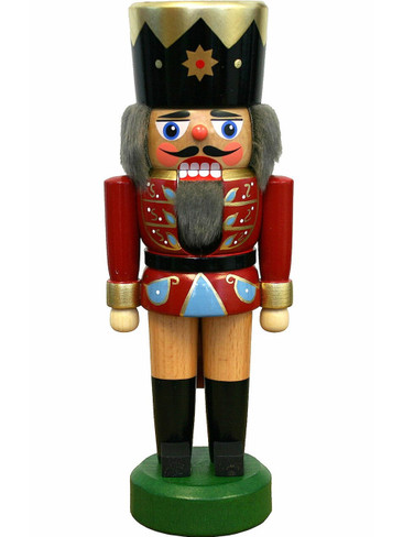 020-007-1 German Nutcracker Red Soldier
