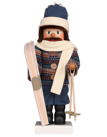 0-846 Ulbricht Skier Nutcracker