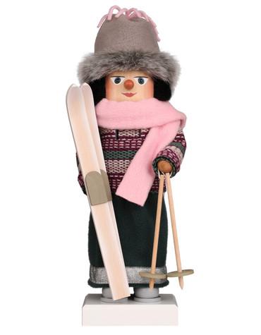 0-847 Ulbricht Lady Skier Nutcracker