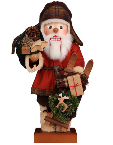 0-853 Ulbricht Swedish Sami Santa Claus Nutcracker
