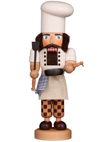 32-569 Ulbricht Cook with Pan Nutcracker
