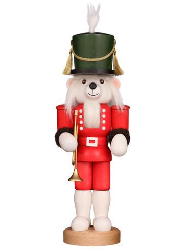 32-595 Ulbricht Teddy Jack Polar Bear Nutcracker