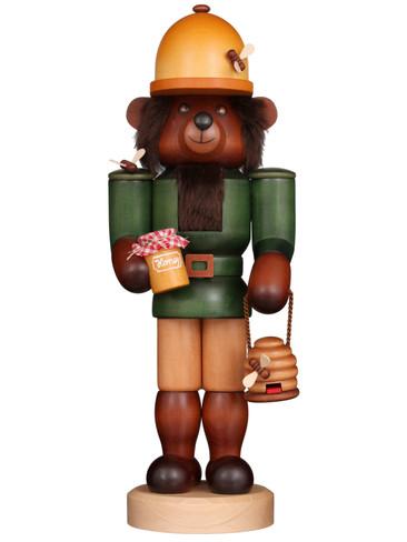 32-596 Ulbricht Teddy Tambo Honey Bear Nutcracker