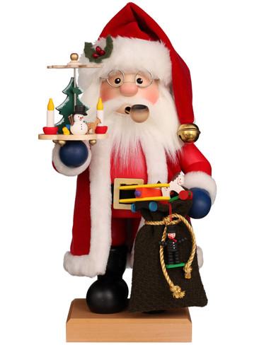 1-203 Ulbricht Incense Burner Santa with Pyramid Smoker