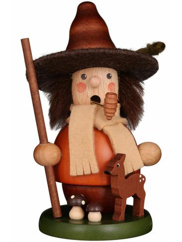 1-545 Ulbricht Incense Burner Mini Woodsman with Deer Smoker