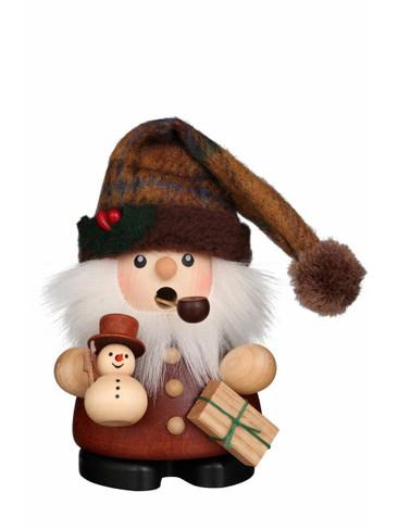 1-691 Ulbricht Incense Burner Mini Santa with Snowman Smoker