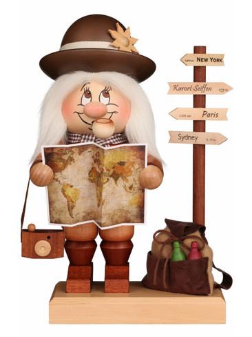 1-813 Ulbricht Incense Burner Dwarf Traveler Smoker