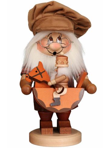 1-815 Ulbricht Incense Burner Dwarf with Rocking Horse Smoker