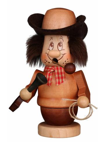 35-315 Ulbricht Incense Burner Mini Dwarf Cowboy Smoker