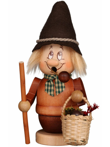 35-317 Ulbricht Incense Burner Mini Dwarf Mushroom Picker Smoker