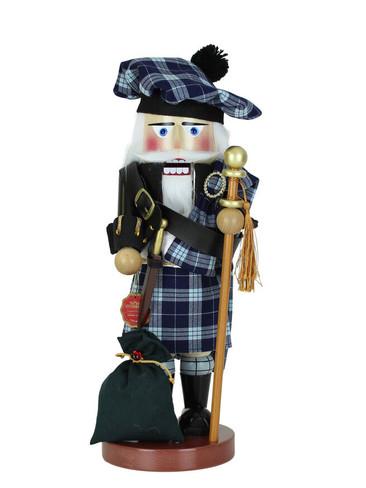 s3501 Scottish Santa Steinbach Nutcracker from Germany
