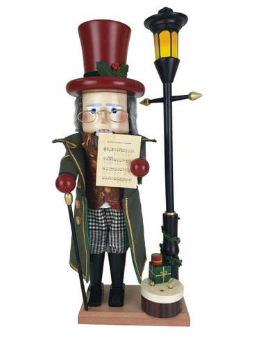 S3014 We Wish You a Merry Christmas Steinbach Nutcracker from Germany