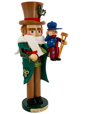 S1820 Bob Cratchit and Tim Steinbach Nutcracker from Germany