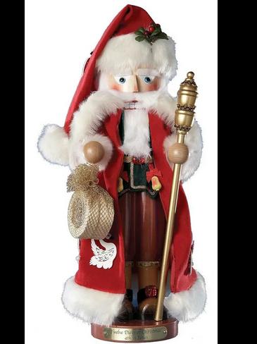 S1884 Twelve days of Christmas Steinbach Nutcracker