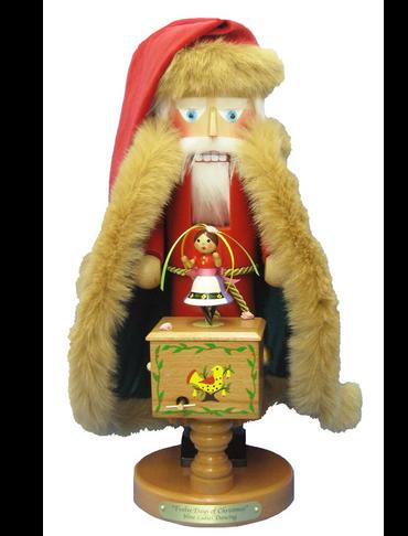 S1886 Twelve days of Christmas Steinbach Nutcracker