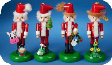 S5009 Twelve days of Christmas Steinbach Mini Nutcracker Set