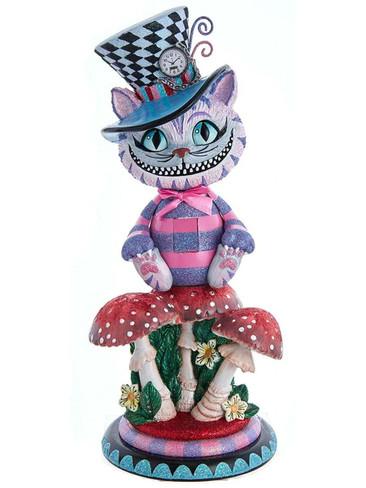 HA0573 Cheshire Cat Hollywood Nutcracker