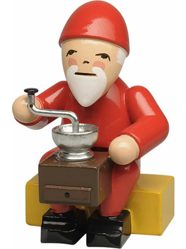 5243-4 Wendt and Kuhn Gnome with Coffee Grinder