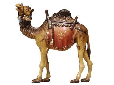 801170 Camel Painted Kostner Nativity from Italy