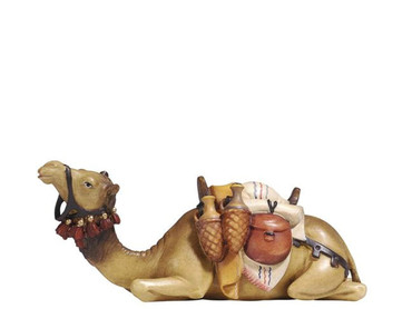 801172 LYING CAMEL PAINTED KOSTNER NATIVITY FROM ITALY