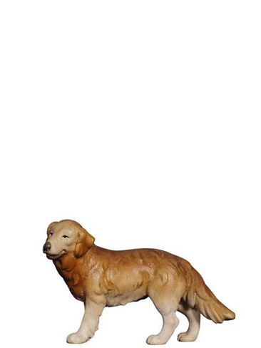 801158 Shepherd Dog Painted Kostner Nativity from Pema in Italy