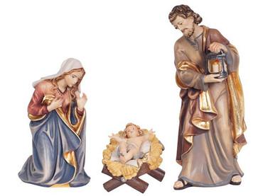801052 Holy Family Painted Kostner Nativity from Italy