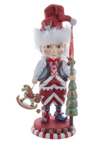 HA0592 Elf with Tree Hollywood Nutcracker