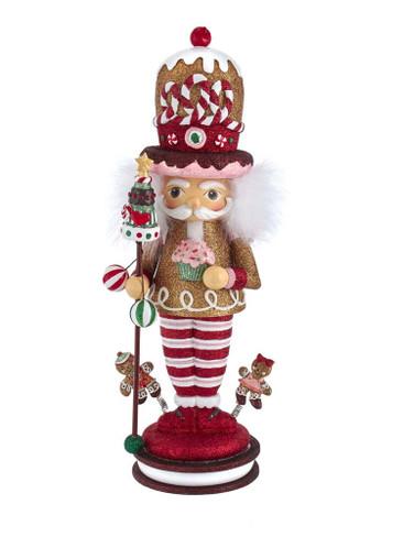 HA0526 Gingerbread King Hollywood Nutcracker