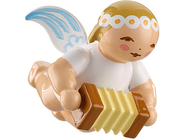 6307-8 Marguerite Angel with Bandoneon Ornament from Wendt and Kuhn