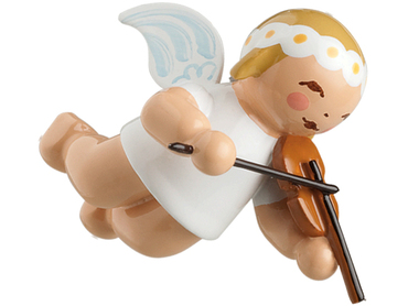 6307-2 Marguerite Angel with Violin Ornament from Wendt and Kuhn