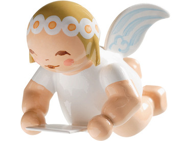 6307-12 Marguerite Angel with Sheet of Music Ornament from Wendt and Kuhn