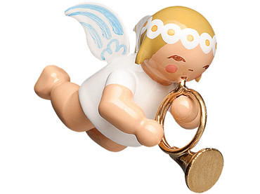 6307-17 Marguerite Angel with French Horn Ornament from Wendt and Kuhn